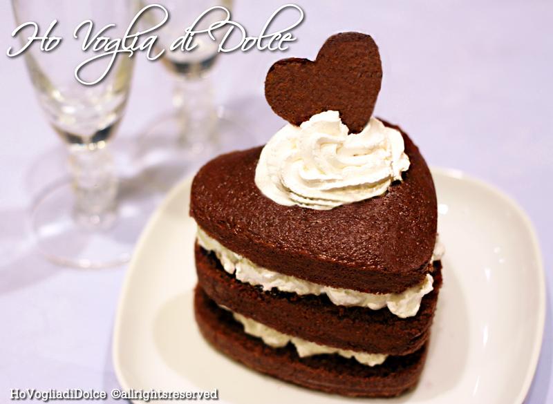 Torta al cioccolato a forma di cuore, ricetta per San Valentino | Ho Voglia di Dolce