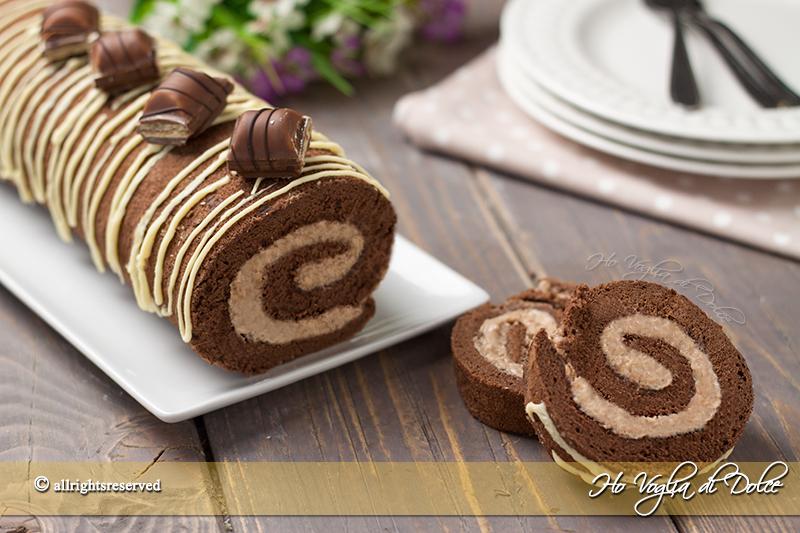 Populaire Rotolo dolce Kinder Bueno golosissimo! | Ho Voglia di Dolce AS95