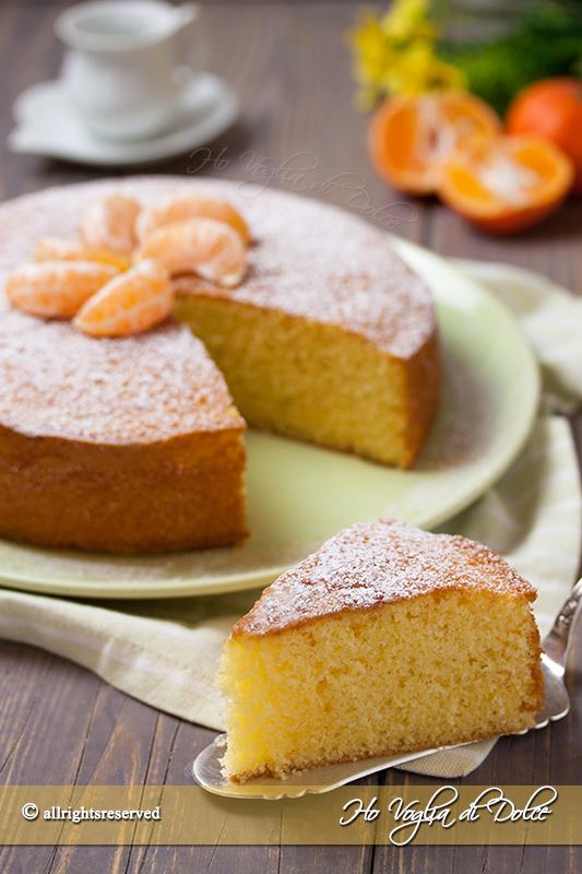 torta ai mandarinie yogurt soffice ricetta