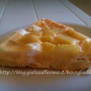 Frittata al forno di patate,ricetta facile e veloce