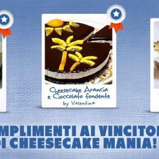 Ho vinto il concorso Cheesecake Mania di Philadelphia, sono strafelice