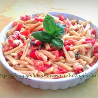 Pasta alla Caprese, ricetta primo piatto