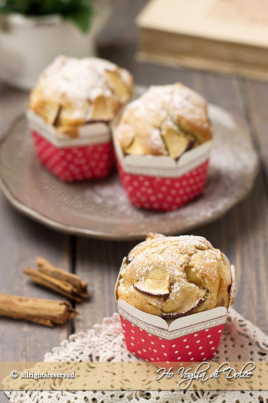 Popolare Muffin alle mele e cannella, ricetta sofficissima | Ho Voglia di Dolce PR45