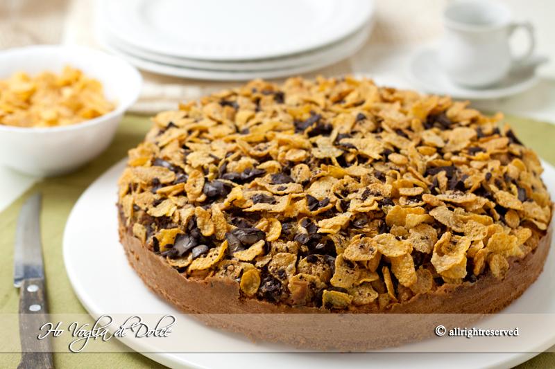 torta-cornflakes-e-nutella