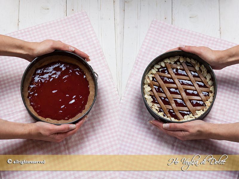 passaggi linzer torte ricetta Ho Voglia di Dolce blog
