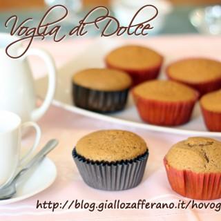 muffin al cappuccino, ricetta del buongiorno