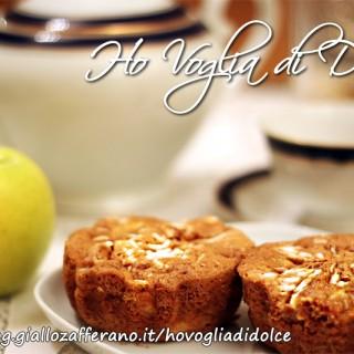 Tortine di mele senza burro, ricetta per la merenda