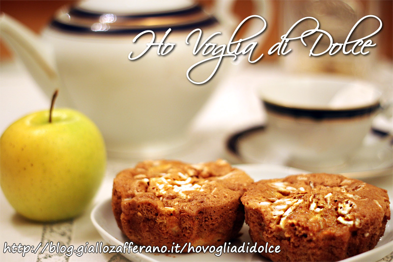 tortine di mele senza burro, ricetta ideale per la merenda