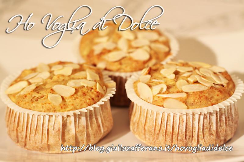 Muffin al cocco e gocce di cioccolato, ricetta golosa
