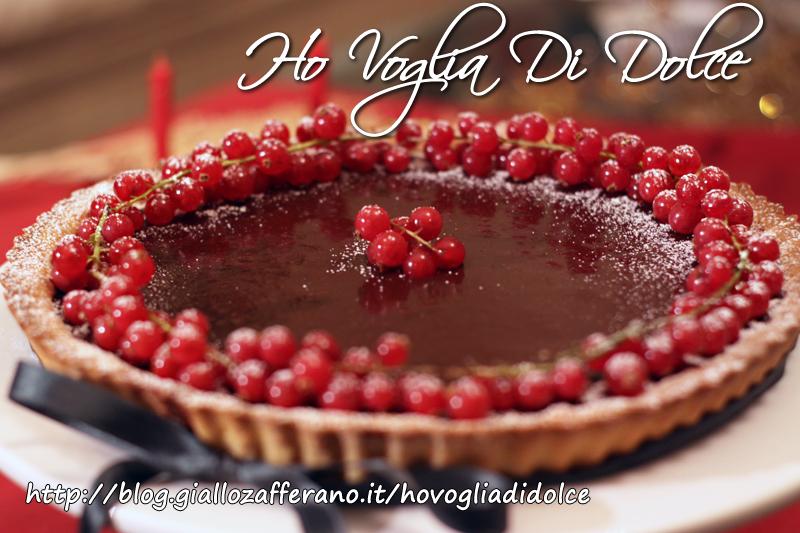 Crostata al cioccolato fondente, ricetta natalizia