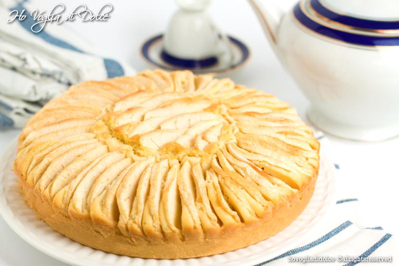Torta di mele senza burro, ricetta light