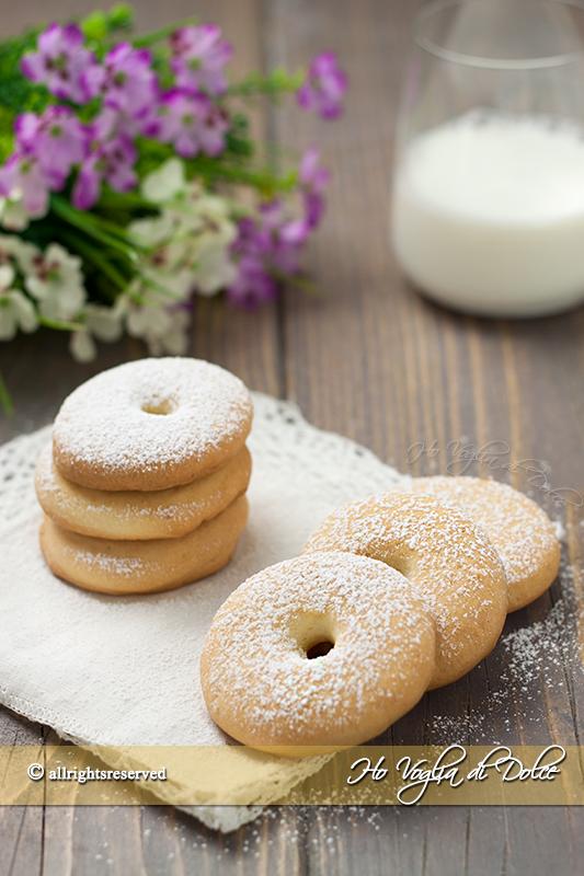 Biscotti alla panna tipo Macine