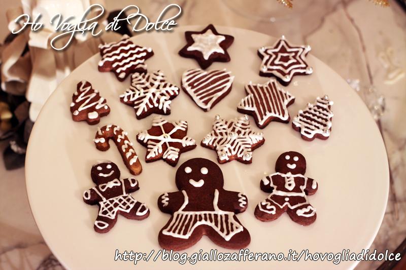 Dolce Di Natale Giallo Zafferano.Biscotti Natalizi Decorati Con Glassa Ricetta Dolce Natale