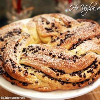 Torta Angelica con cioccolato e nocciole