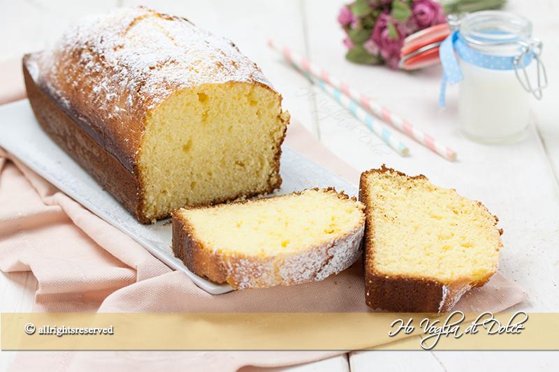 Plum cake alla ricotta sofficissimo