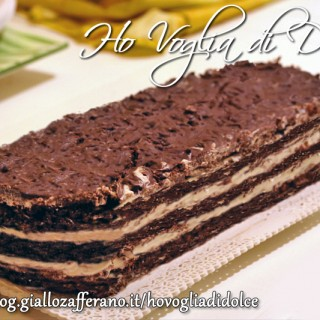 Mattonella al cioccolato, ricetta golosa