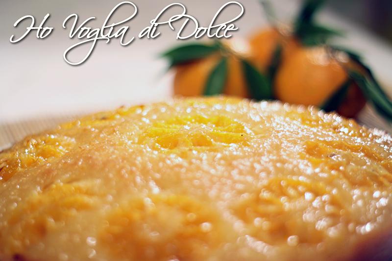 Torta di mandarini senza burro e uova
