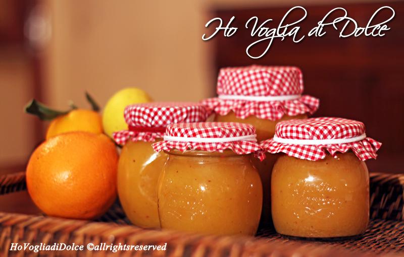 Marmellata di arance aromatizzata al rum