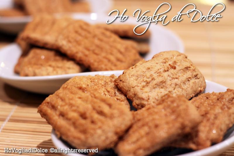 Famoso Biscotti al miele e zucchero di canna senza uova, ricetta   Ho  CV84