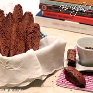 Biscotti da latte al cacao, inzupposi e fragranti