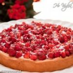 Crostata di fragoline e crema pasticcera