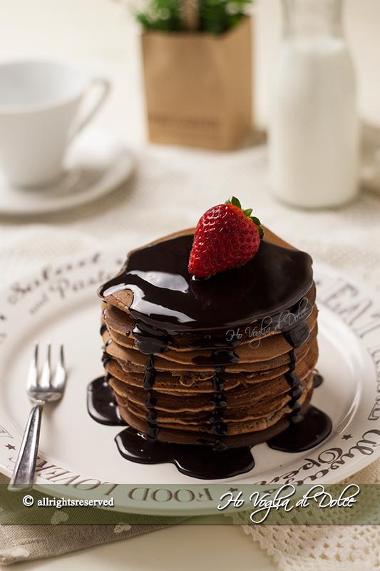 Pancakes al cacao, ricetta colazione