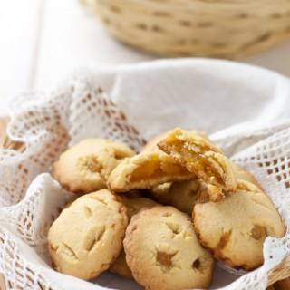 Cuor di mela biscotti