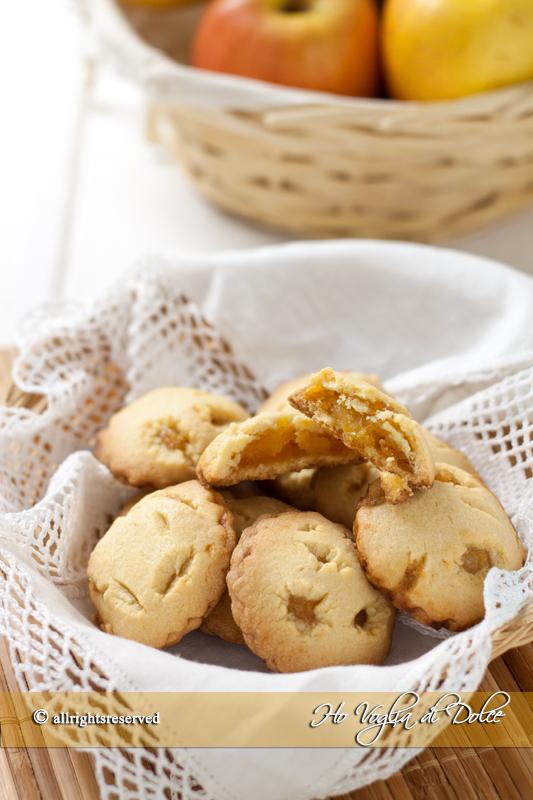 biscotti alle mele cuor di mela