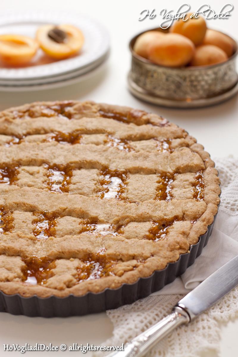 Crostata con marmellata di albicocche, ricetta | Ho Voglia di Dolce