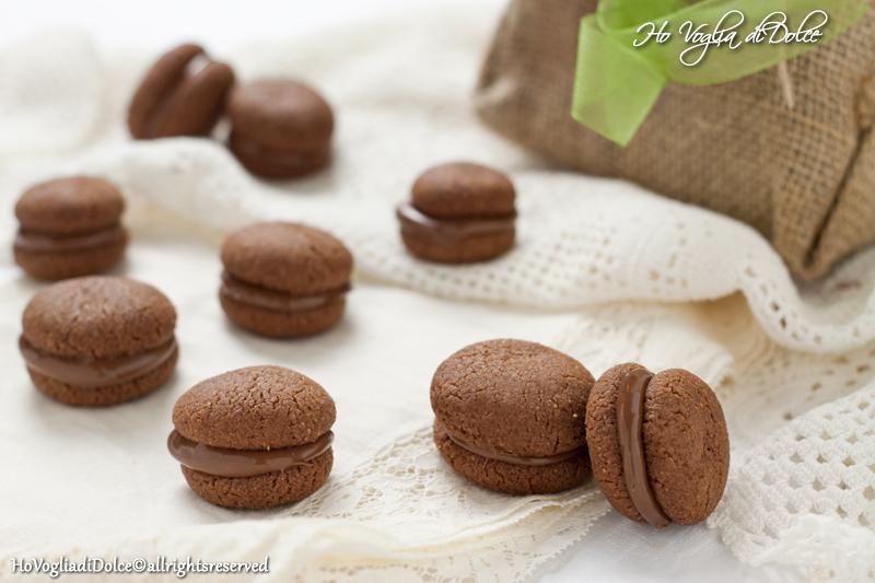 Baci di dama al cioccolato, ricetta   Ho Voglia di Dolce