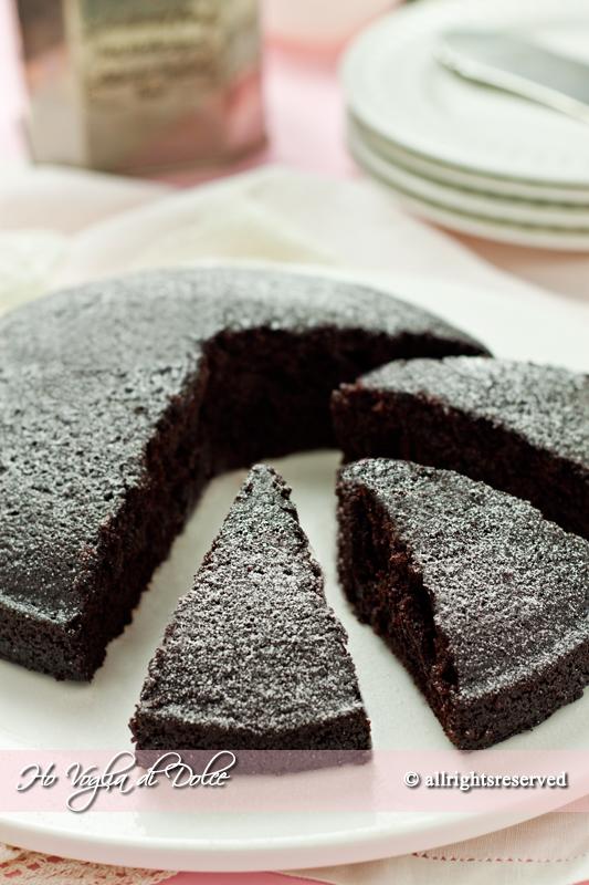 Ricetta torta cacao senza latte