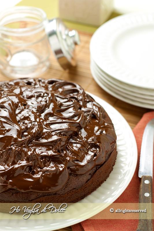 Torta di castagne e cioccolato, ricetta senza burro  Ho Voglia di Dolce