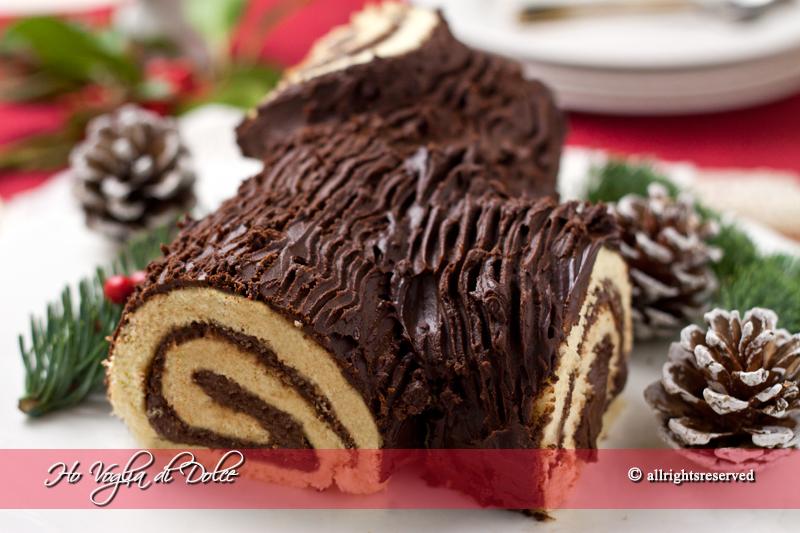 Buffet Di Dolci Di Natale : Tronchetto di natale buche de noel ricetta ho voglia di dolce