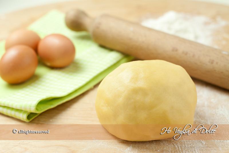 Pasta frolla, ricetta base | Ho Voglia di Dolce