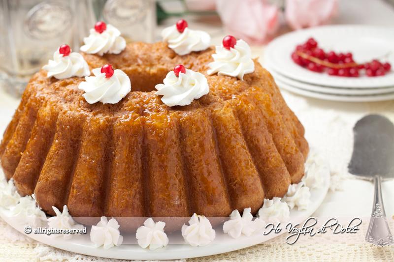 Torta Babà, ricetta tradizionale napoletana | Ho Voglia di Dolce