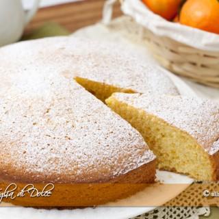 Torta di mandarini soffice