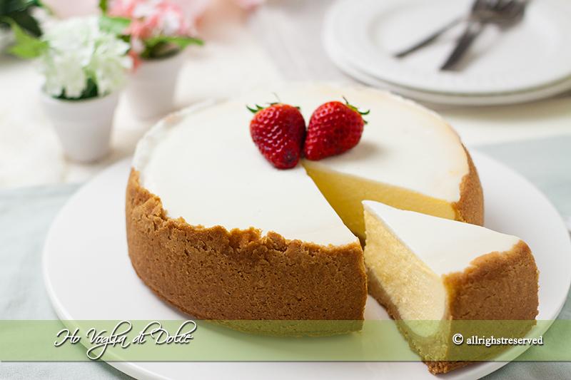 New York Cheesecake, ricetta americana| Ho Voglia di Dolce
