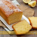 Plumcake al limone soffice e senza burro ricetta | Ho Voglia di Dolce