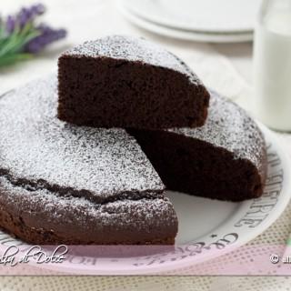 Torta al cioccolato in 5 minuti