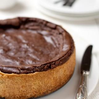 Flan pâtissier al cioccolato