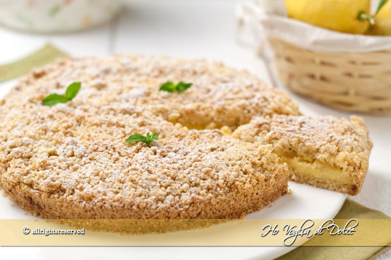 Bien-aimé Sbriciolata al limone, ricetta dolce al limone | Ho Voglia di Dolce EV26