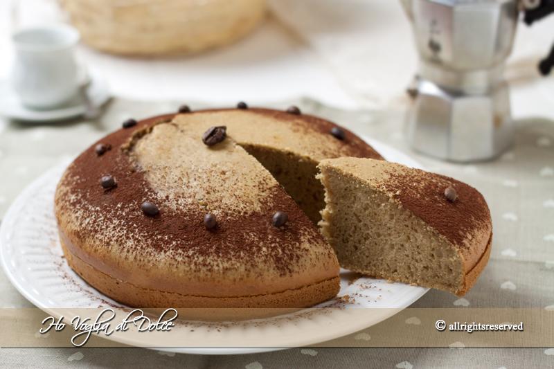 Torta Al Caffè Soffice Ricetta Per La Colazione Ho Voglia Di Dolce