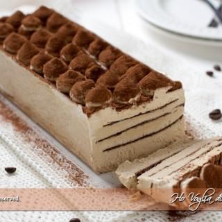 Mattonella gelato al caffè