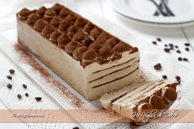 mattonella gelato al caffe