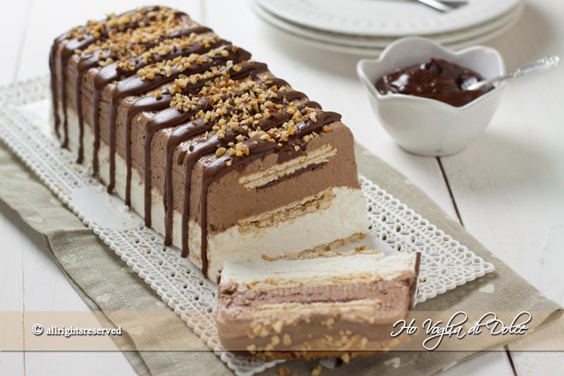 semifreddo panna cioccolato ricetta