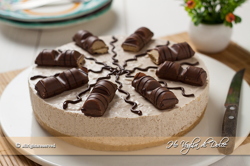 Populaire Cheesecake Kinder Bueno senza cottura| Ho Voglia di Dolce AS95
