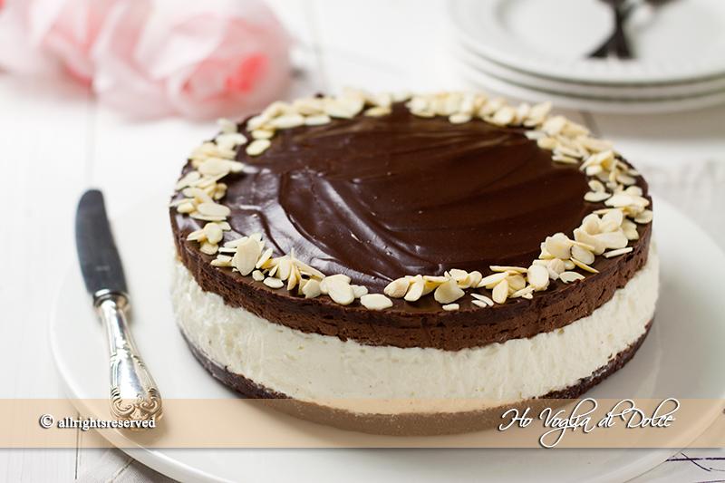 Ben noto Cheesecake con mousse al cioccolato  Ho Voglia di Dolce BB49