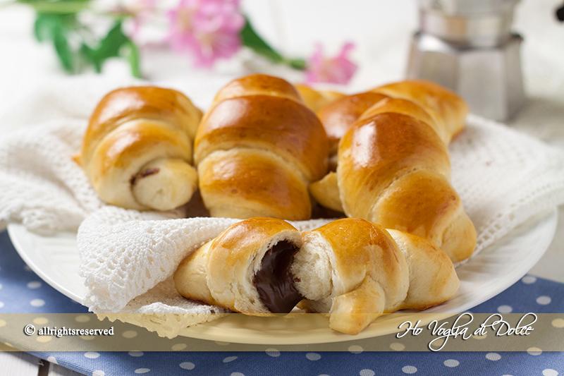 Cornetti-al-latte- senza uova