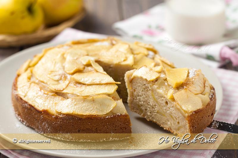 Ricetta torta di mele ricotta