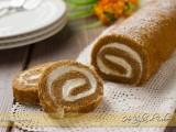 Rotolo dolce di zucca Pumpkin roll
